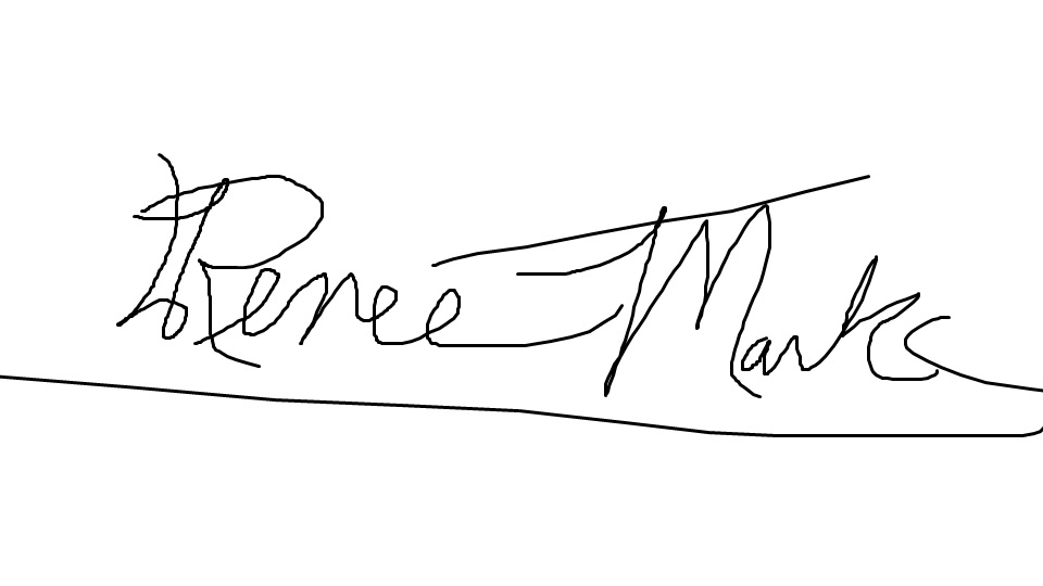 Renee Marks's Signature