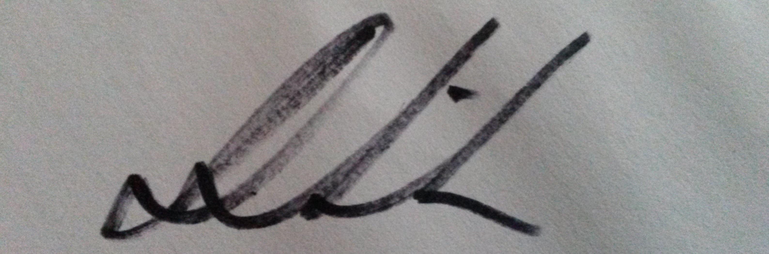 Dawn Grider's Signature