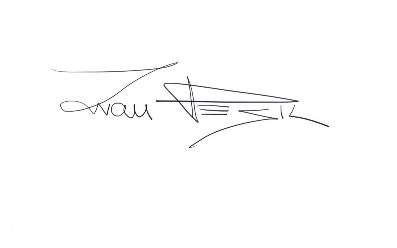 Ivan Pesic's Signature