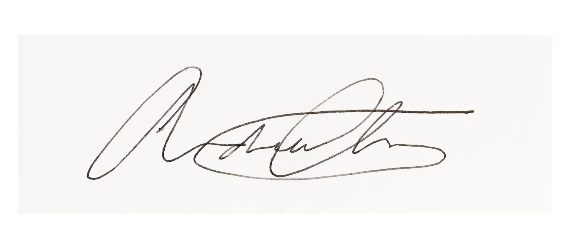 Andrew Chan's Signature