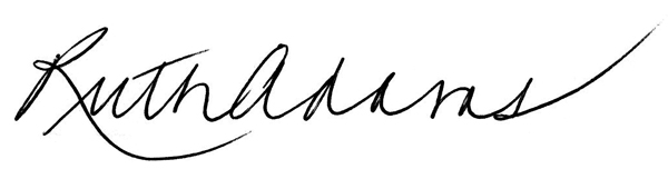 Ruth Adams's Signature