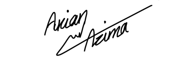 Arian Azima's Signature