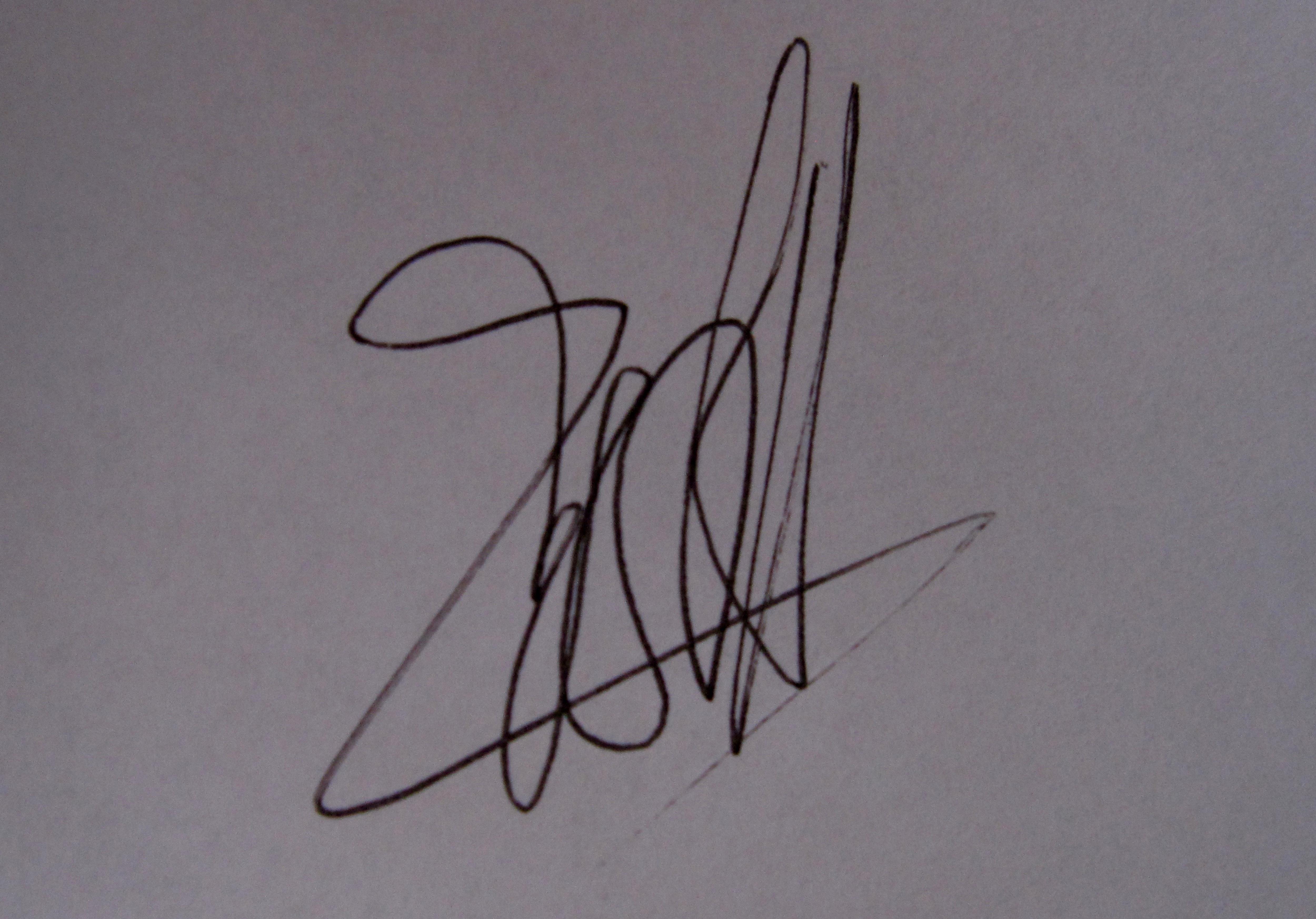 Anna Savina's Signature