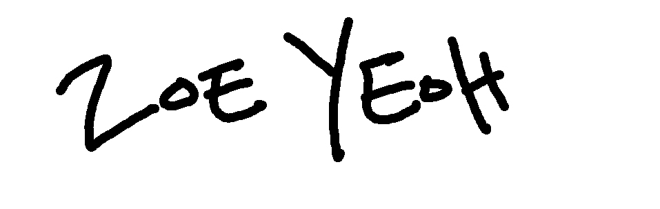 Zoe Yeoh's Signature
