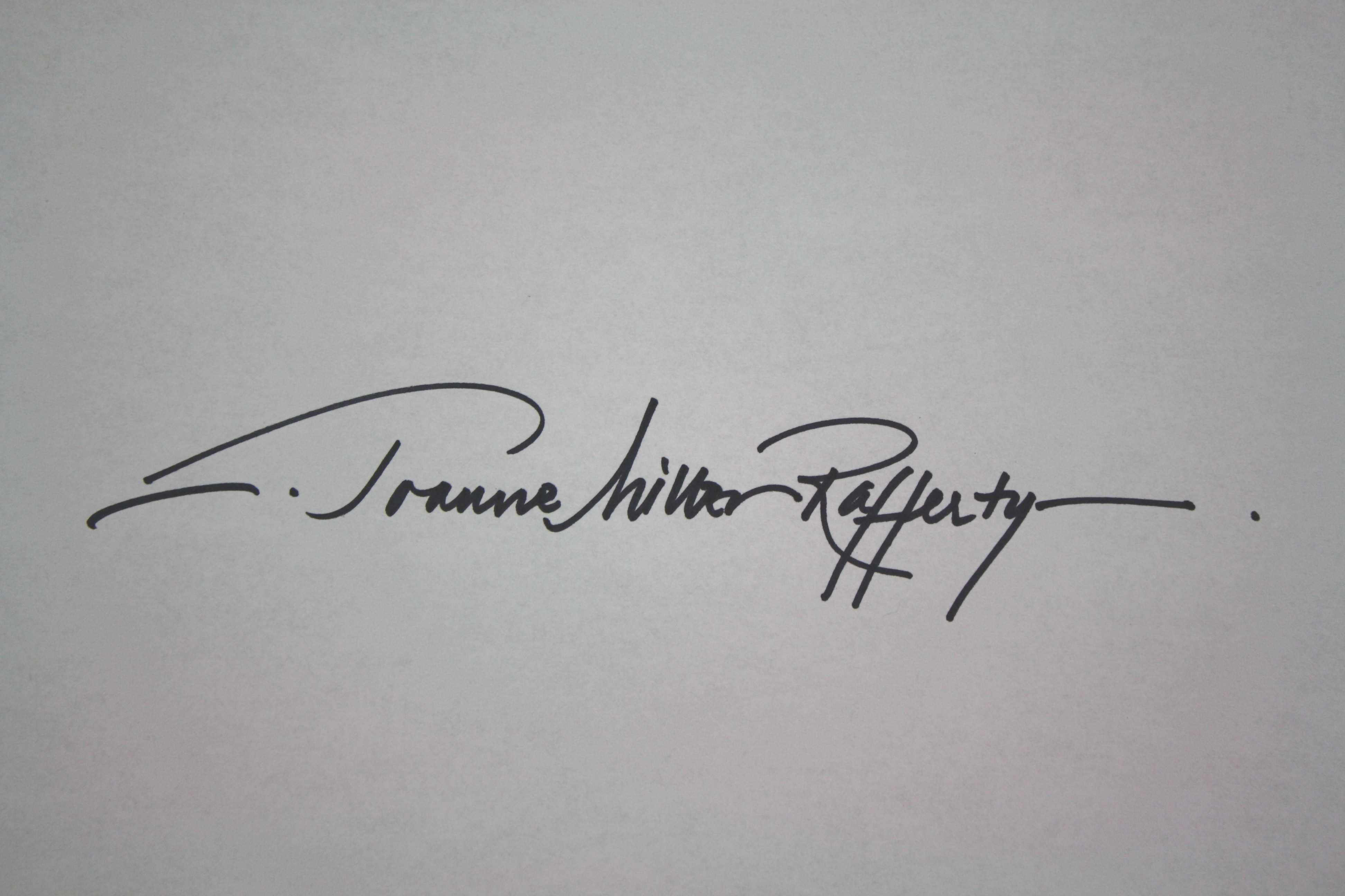 Joanne Miller Rafferty's Signature