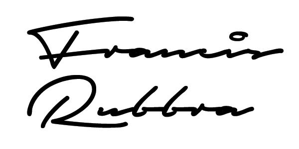 Francis Rubbra's Signature