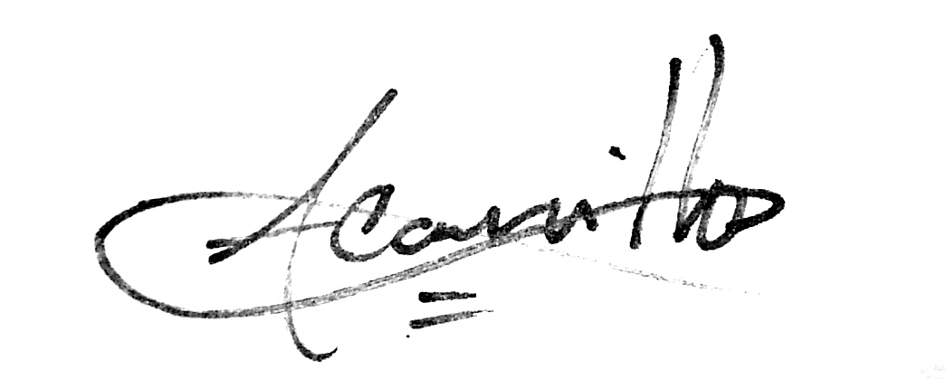 Angel Carrillo's Signature
