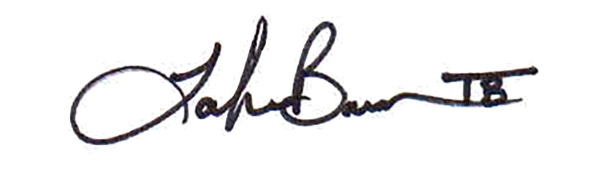 Tamika Barrow's Signature