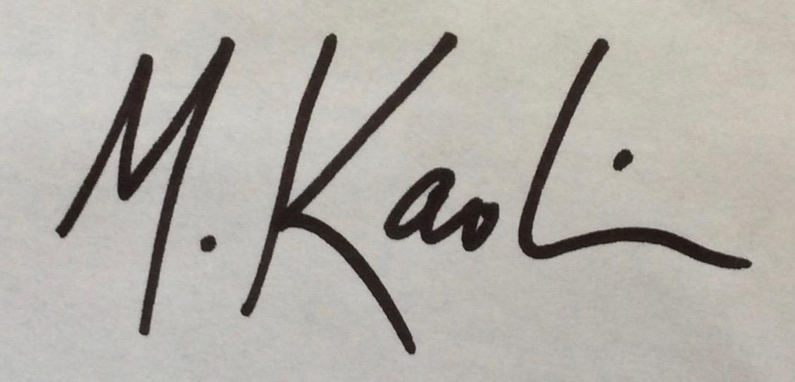 Missy Kaolin's Signature