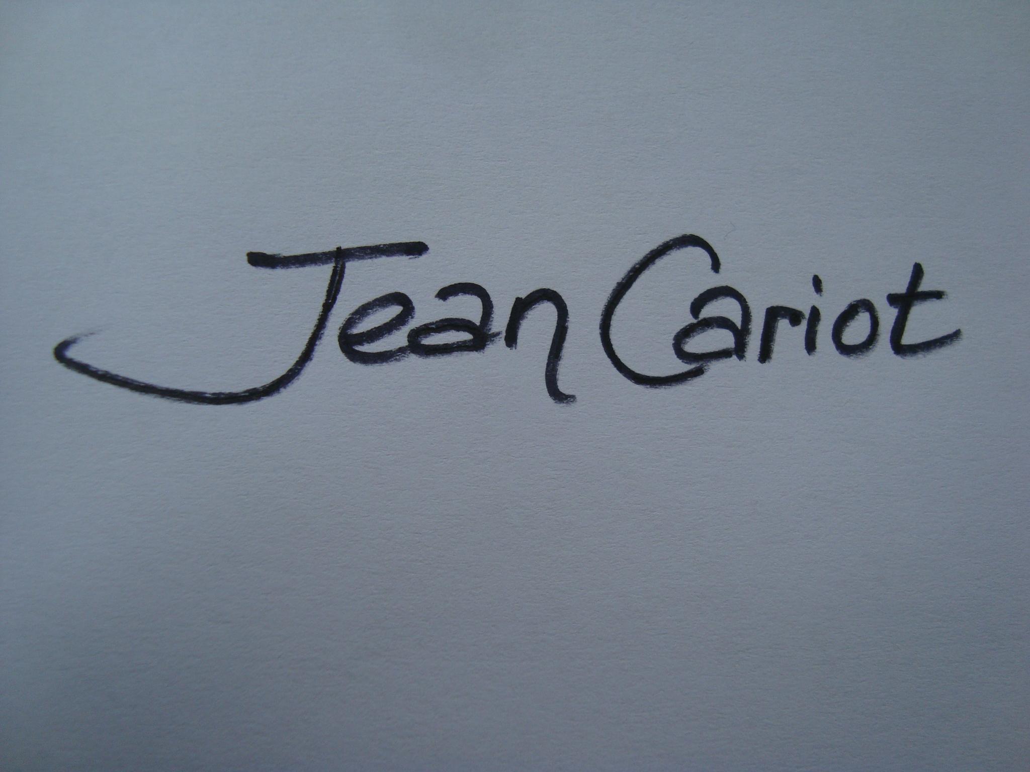 Jean Cariot's Signature