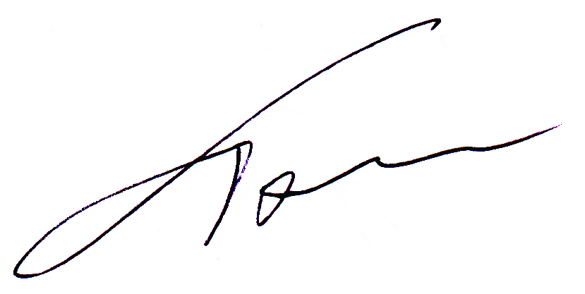 Thomas Hartley's Signature