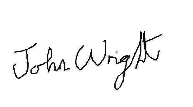 John Wright's Signature