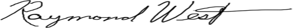 Raymond West's Signature