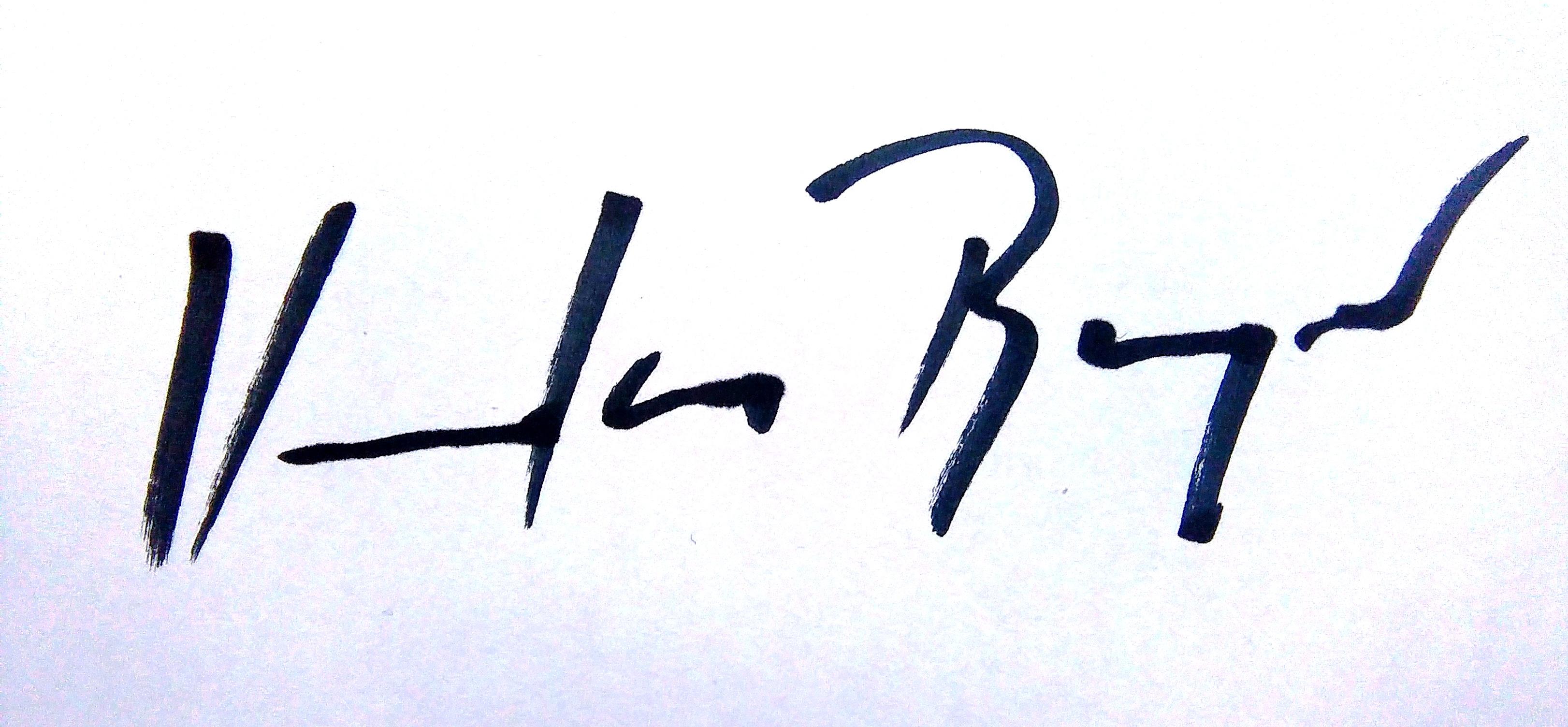 Maja Vukina Bogovic's Signature
