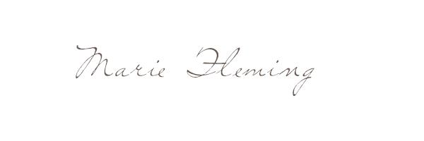 Marie Fleming's Signature