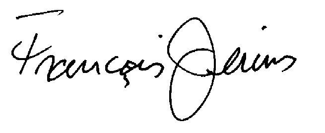 Francois jerins's Signature