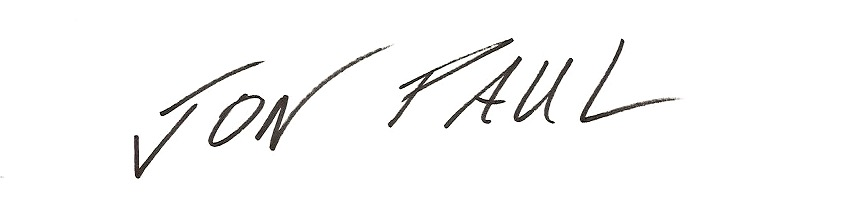 Jon Paul's Signature
