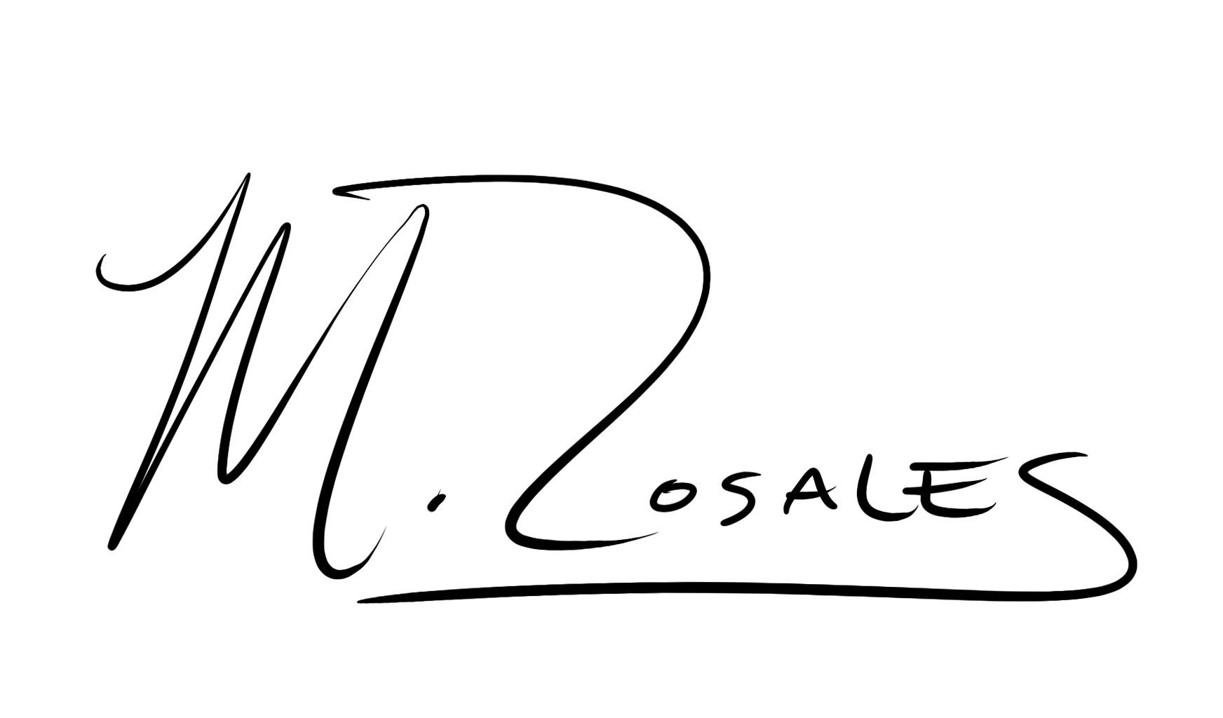 Maya Rosales's Signature
