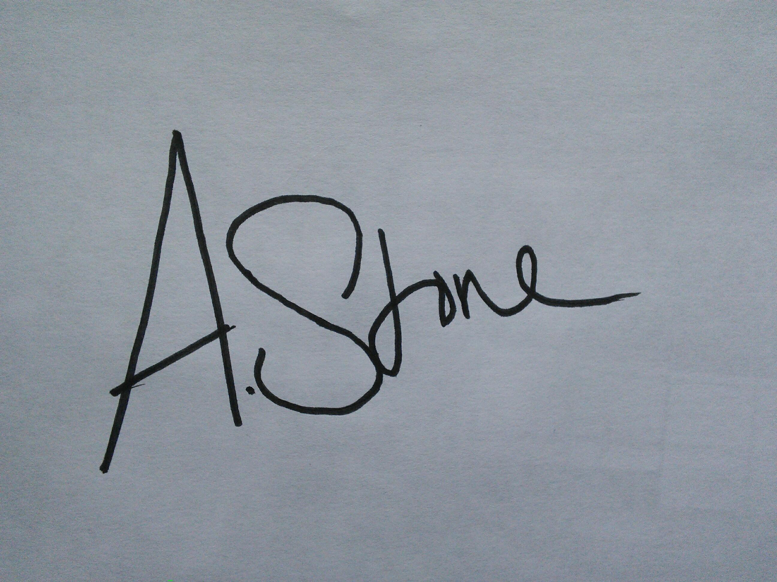 Annabelle Stone's Signature