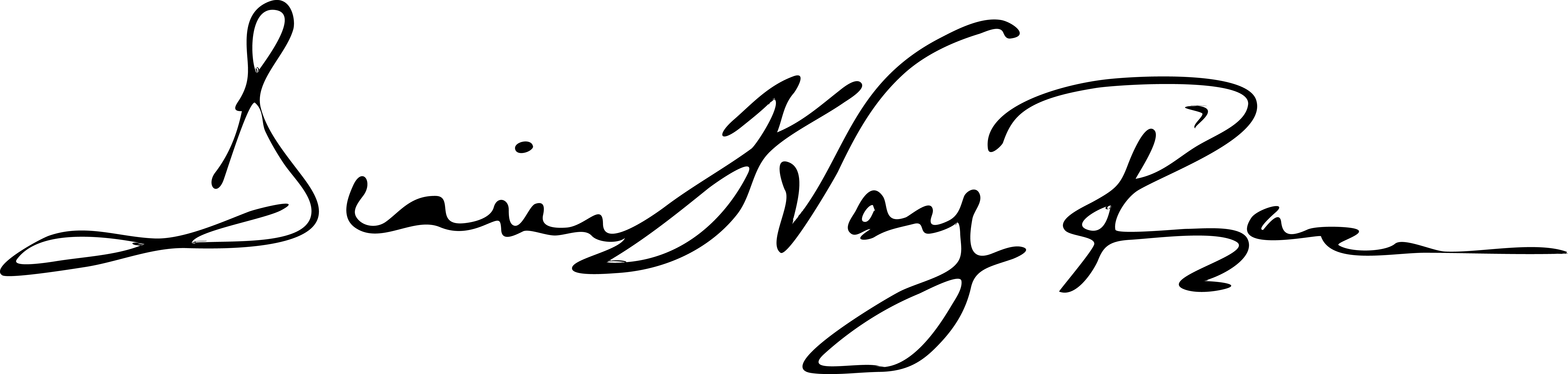 Diane Way Racer's Signature