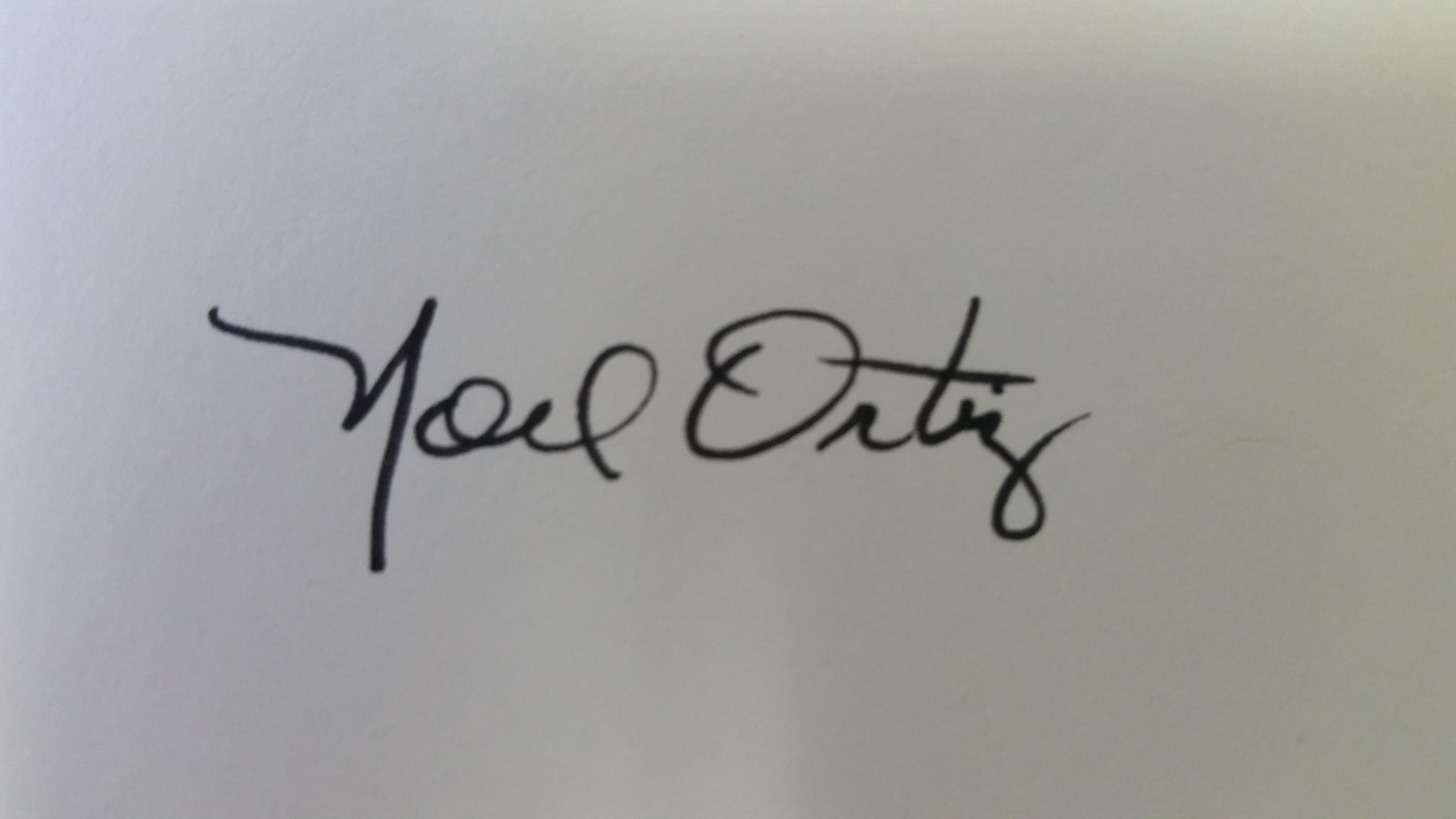 Noel Ortiz's Signature