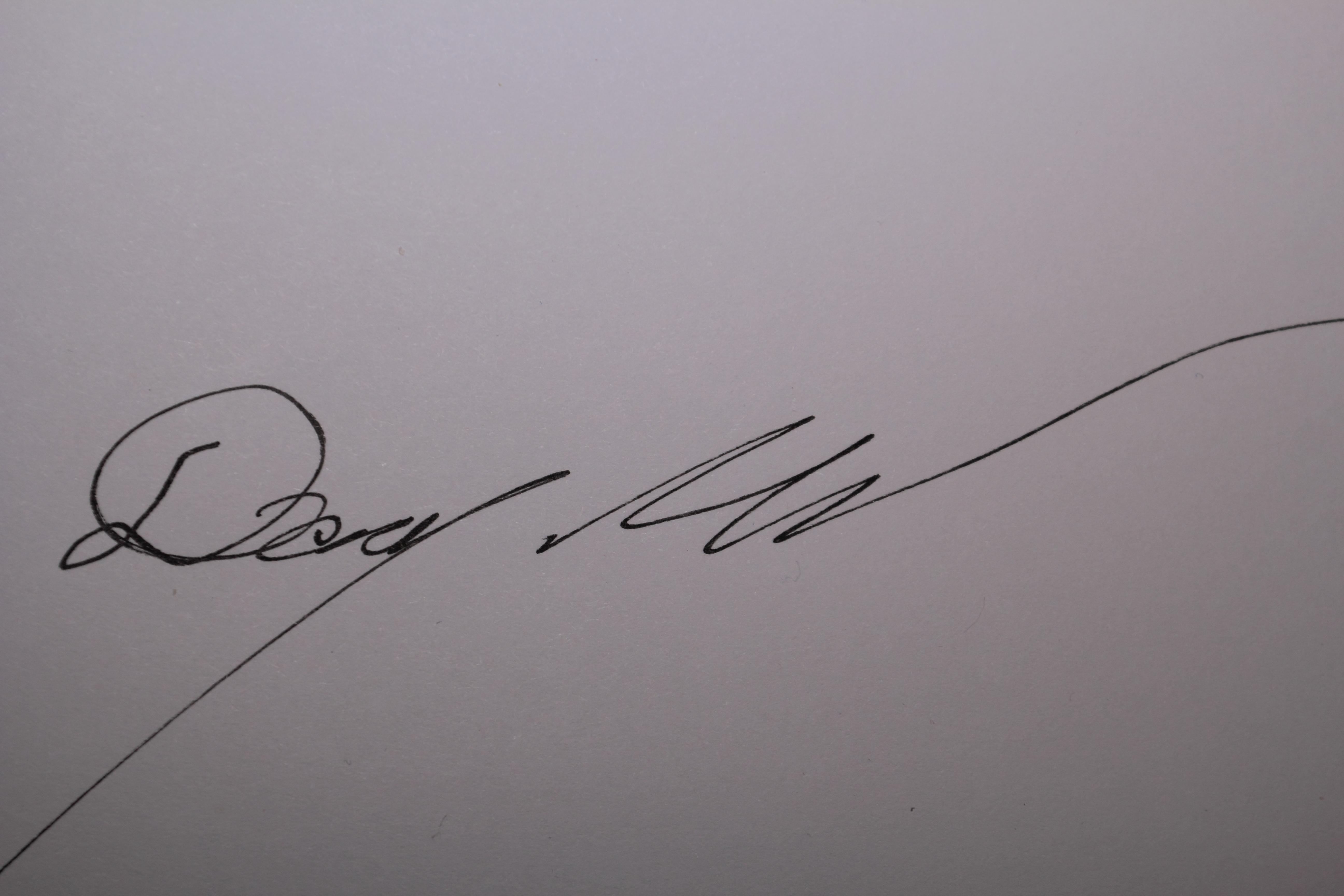 Doug Mills's Signature