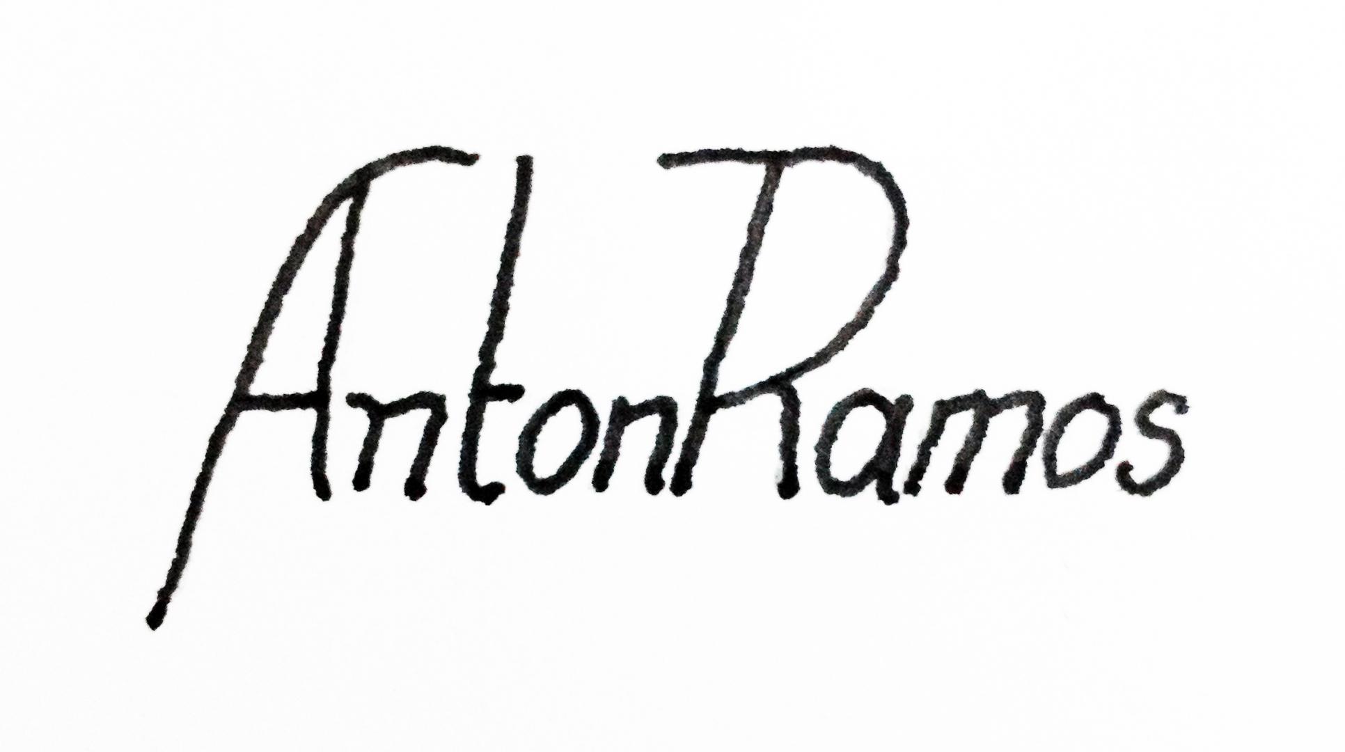 Anton Ramos's Signature