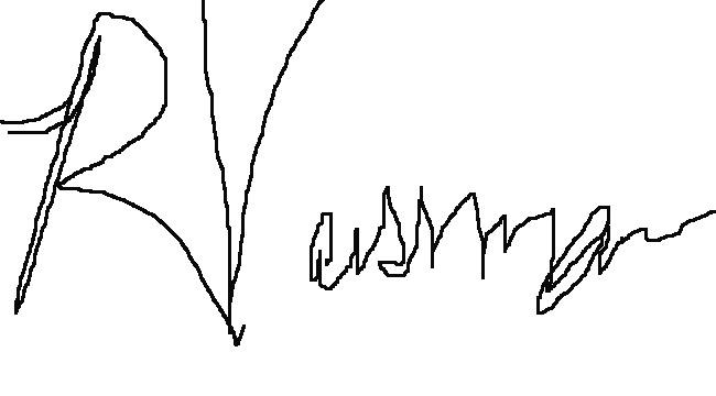 robert vaisman's Signature