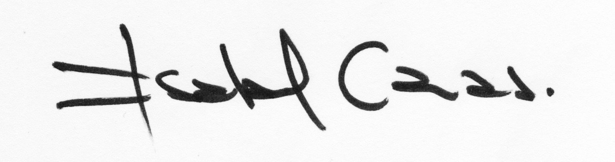 Isabel Cauas's Signature