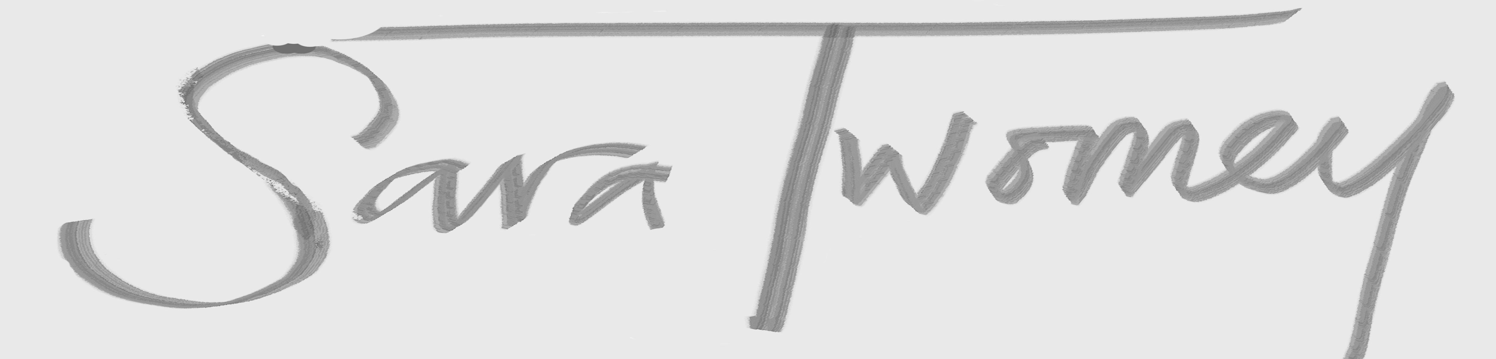 Sara Twomey's Signature