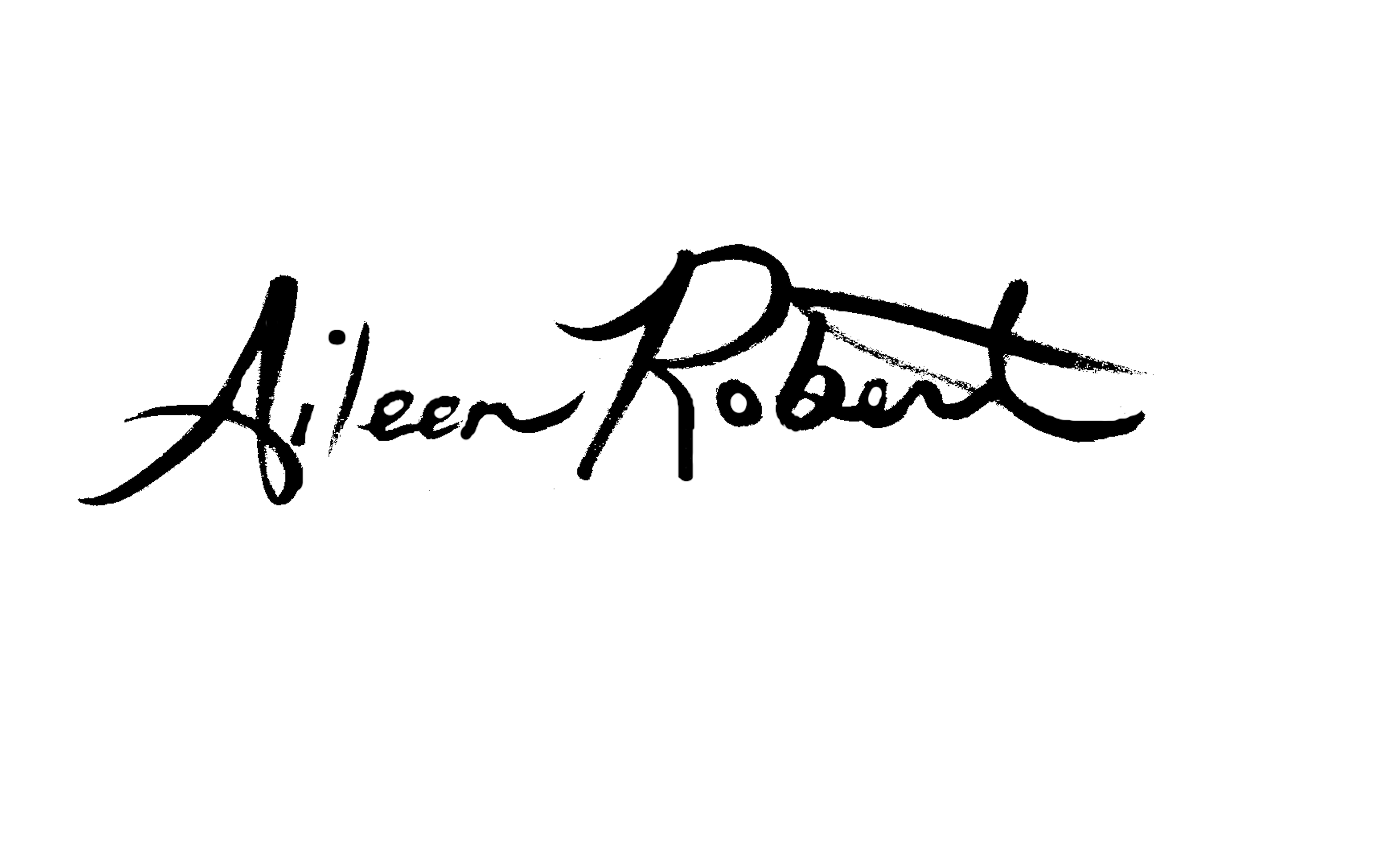 Aileen Roberts's Signature