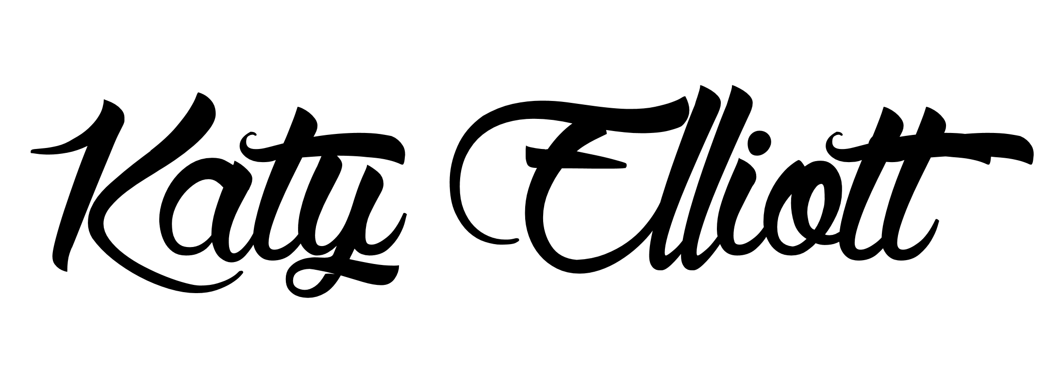 katy elliott's Signature