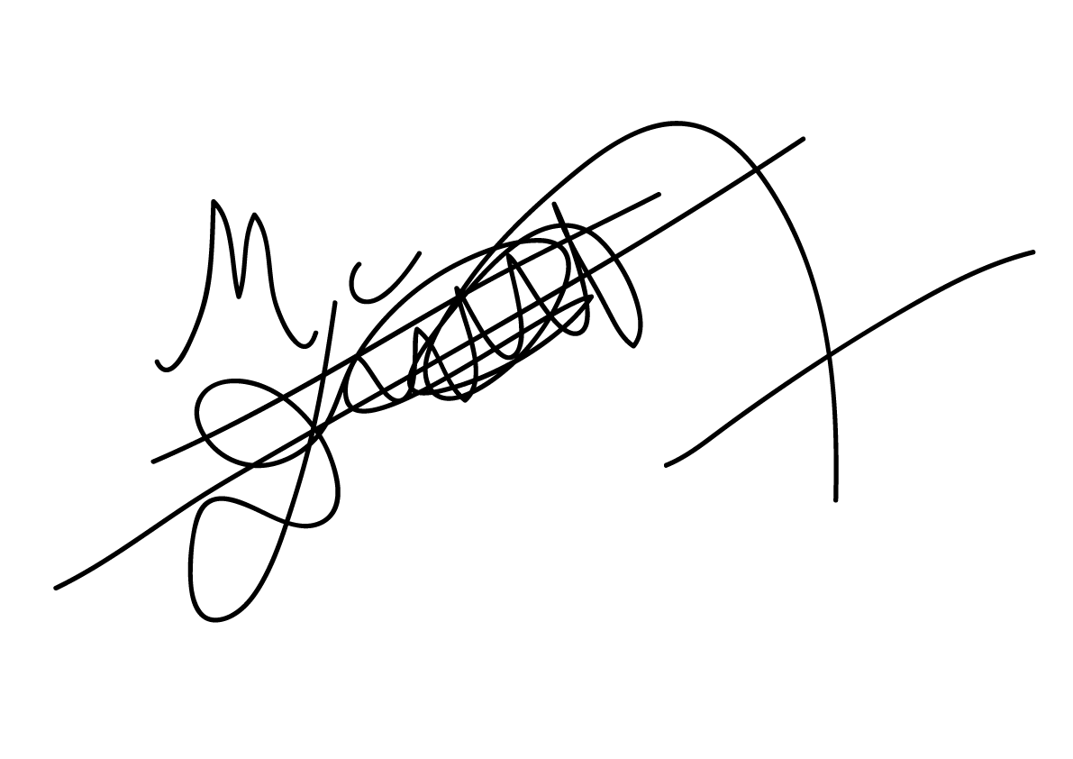 mantala conde's Signature