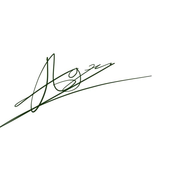 Agil Akbar's Signature