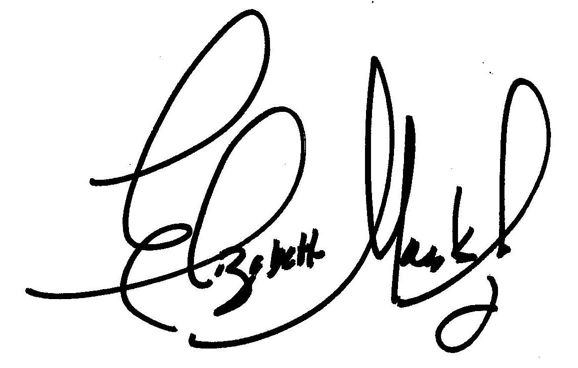 Elizabeth Marks Juviler's Signature
