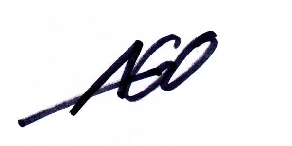 aron gagliardo's Signature