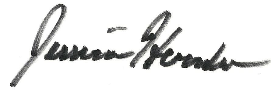 Jessica Herndon's Signature