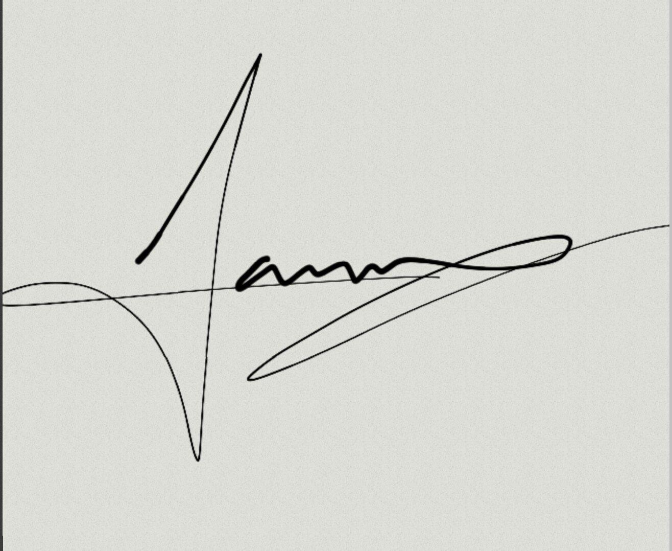Luna Garcia's Signature