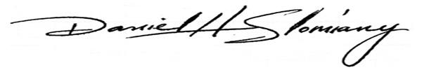 Daniel Slomiany's Signature