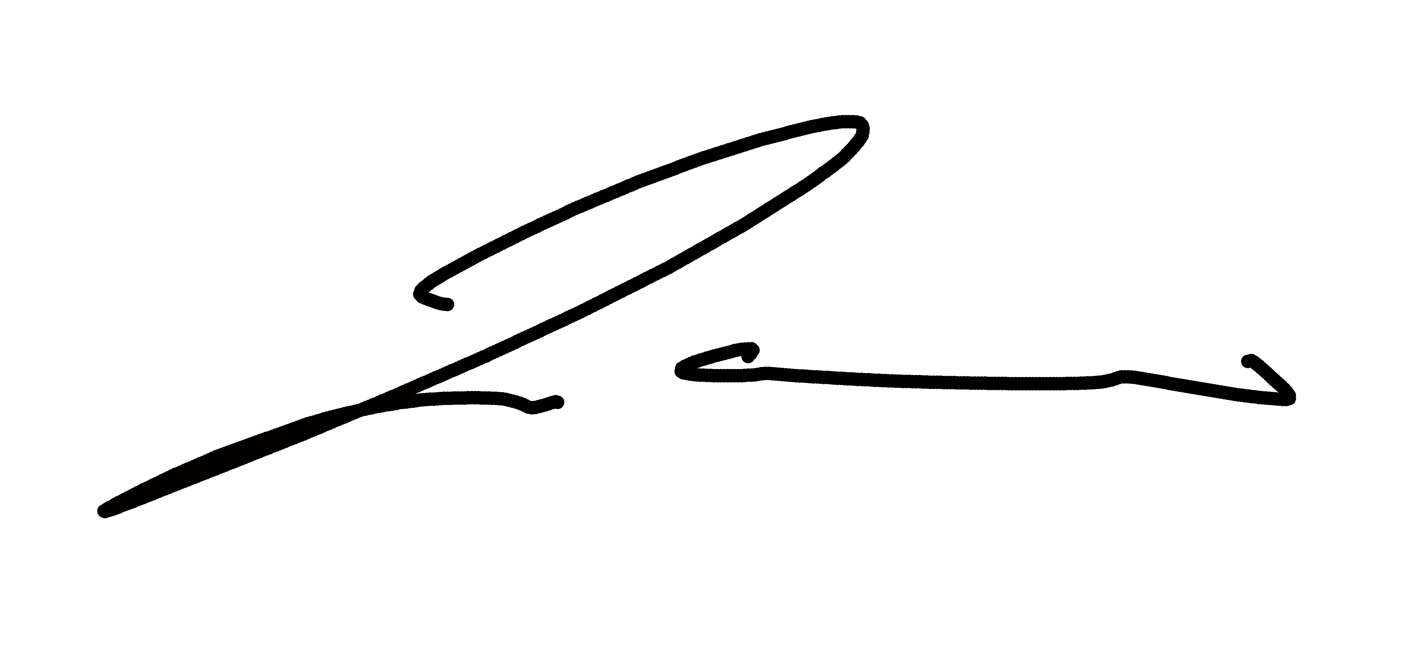 Jackie Lewis's Signature