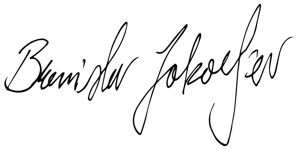 Branislav Jakovljev's Signature