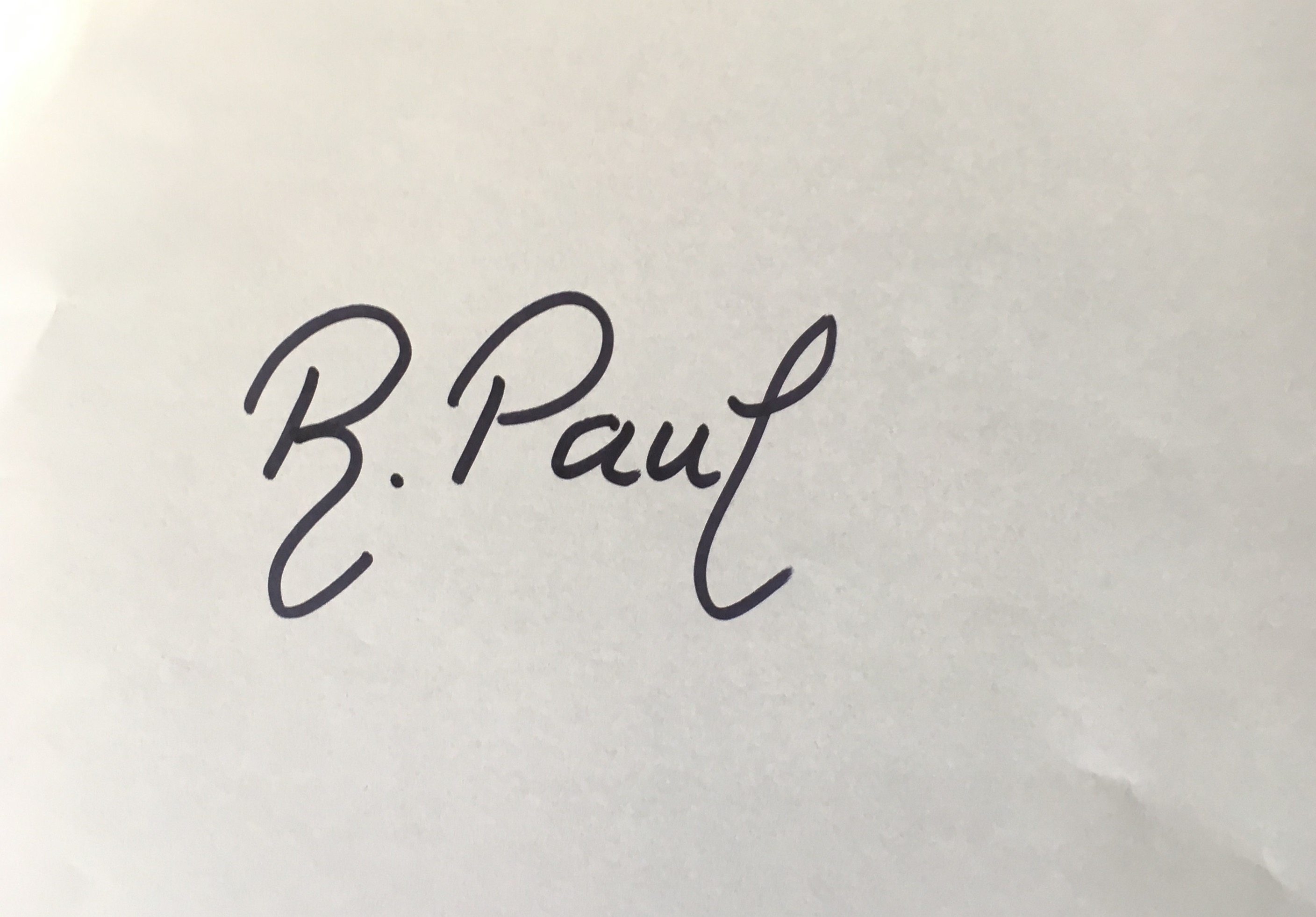 Ruxandra Paul's Signature