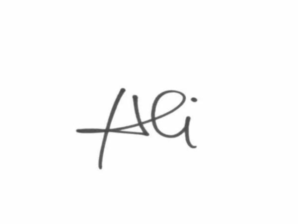 Agneta Covrig's Signature