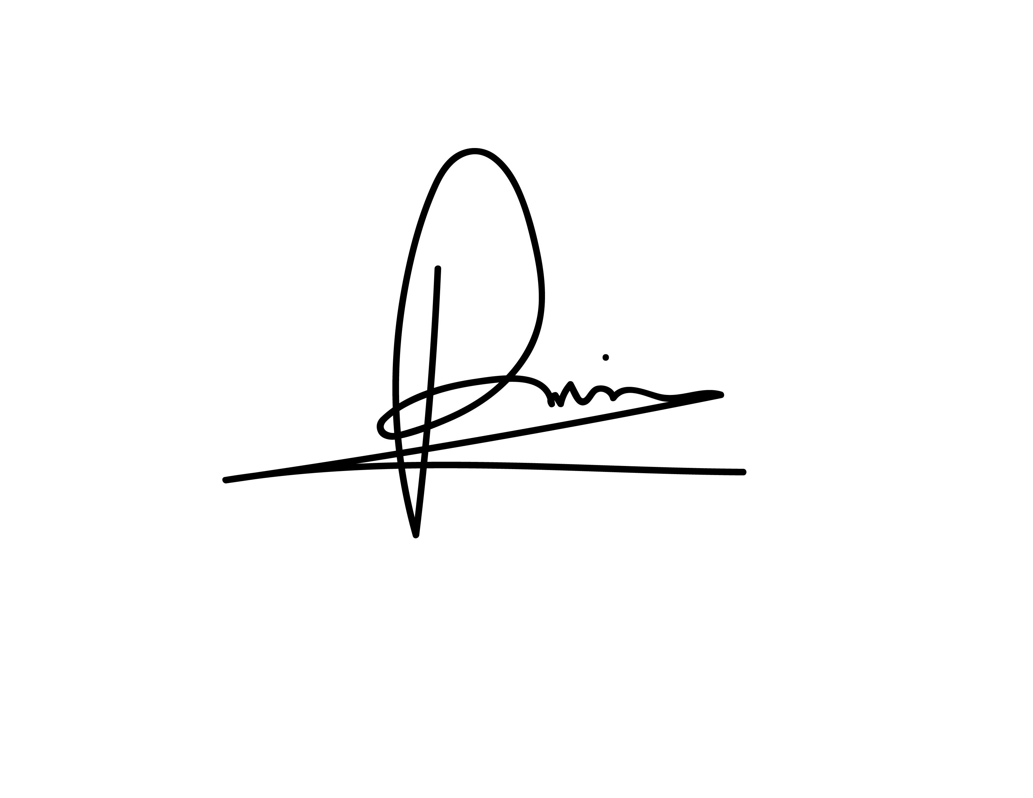 patricia iepure's Signature