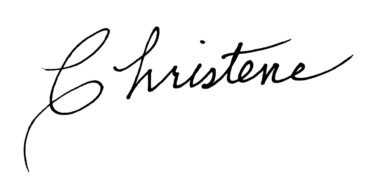 Christene Sloan's Signature