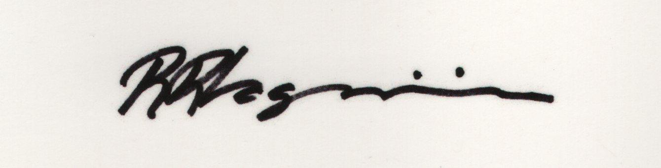 RR VAGNINI's Signature