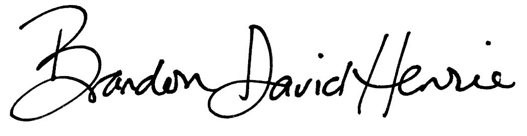 Brandon David Henrie's Signature