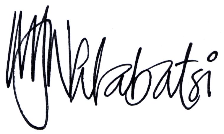 Muziwakhe Nhlabatsi's Signature