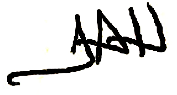 Theresa Husarik's Signature