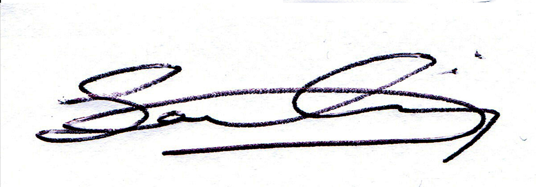 Sanam Nassiri's Signature